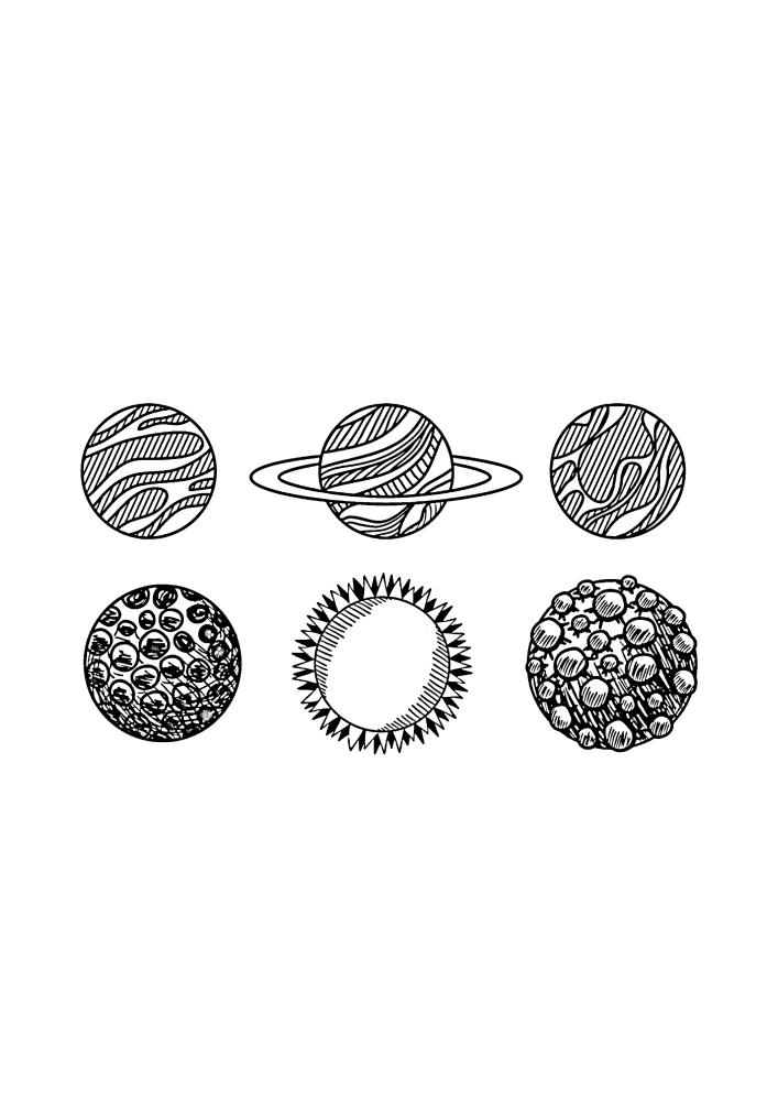 6 планет