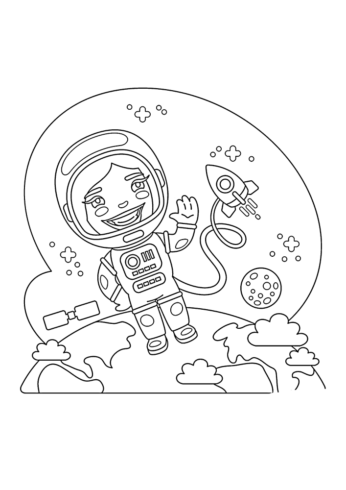 Coloring Pages Of The Planet. 115 Images - The Largest Collection. You Can  Print Or Download It For Free From Us - Razukraski.com