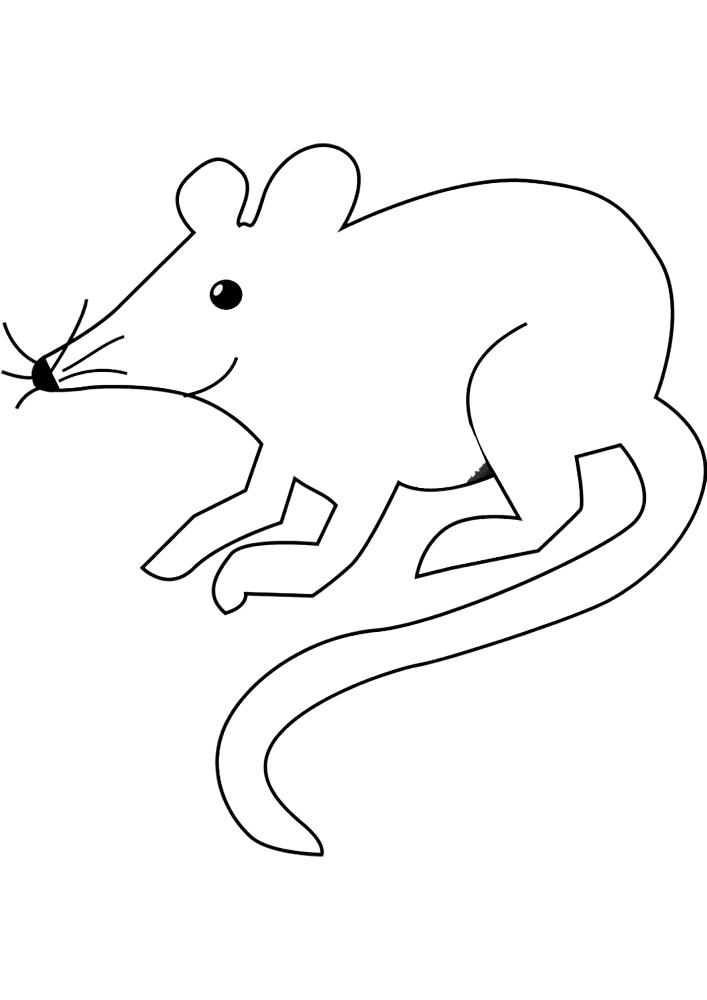Маленькая мышь
