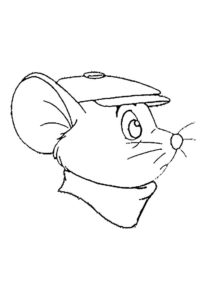 Мышь - вид сбоку