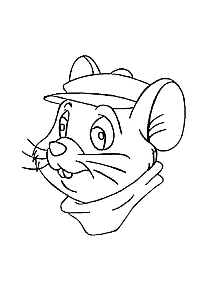 Грызун - персонаж из мультфильма