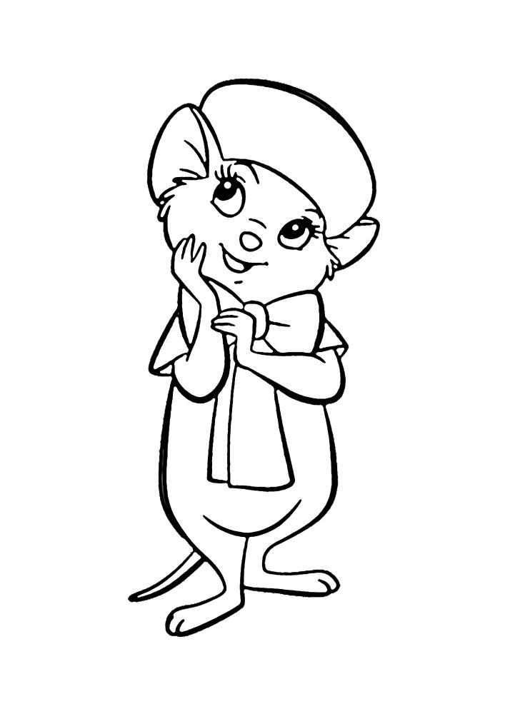 Стесняющаяся мышка