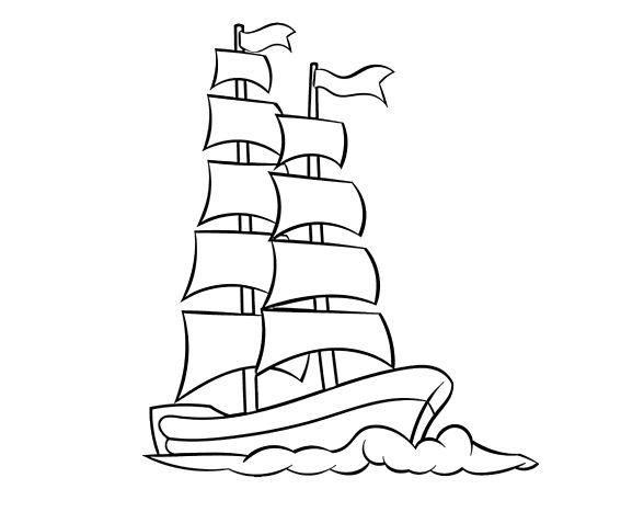 Раскраски Корабли. 125 изображений - самая большая коллекция. Распечатайте или скачайте бесплатно у нас.