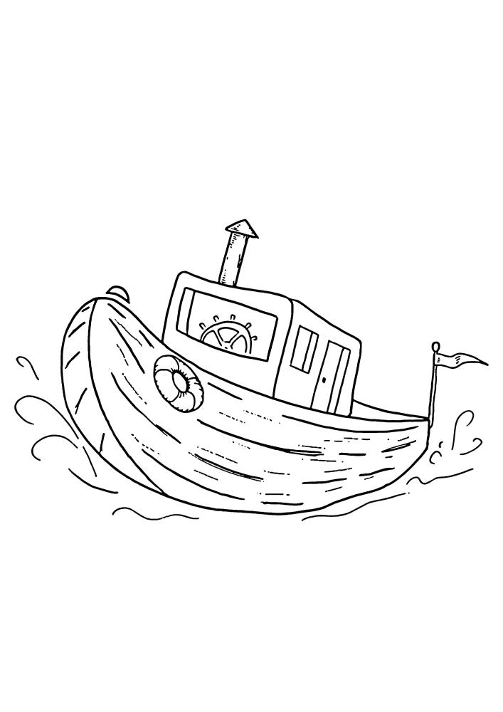 Частное судно для одного человека