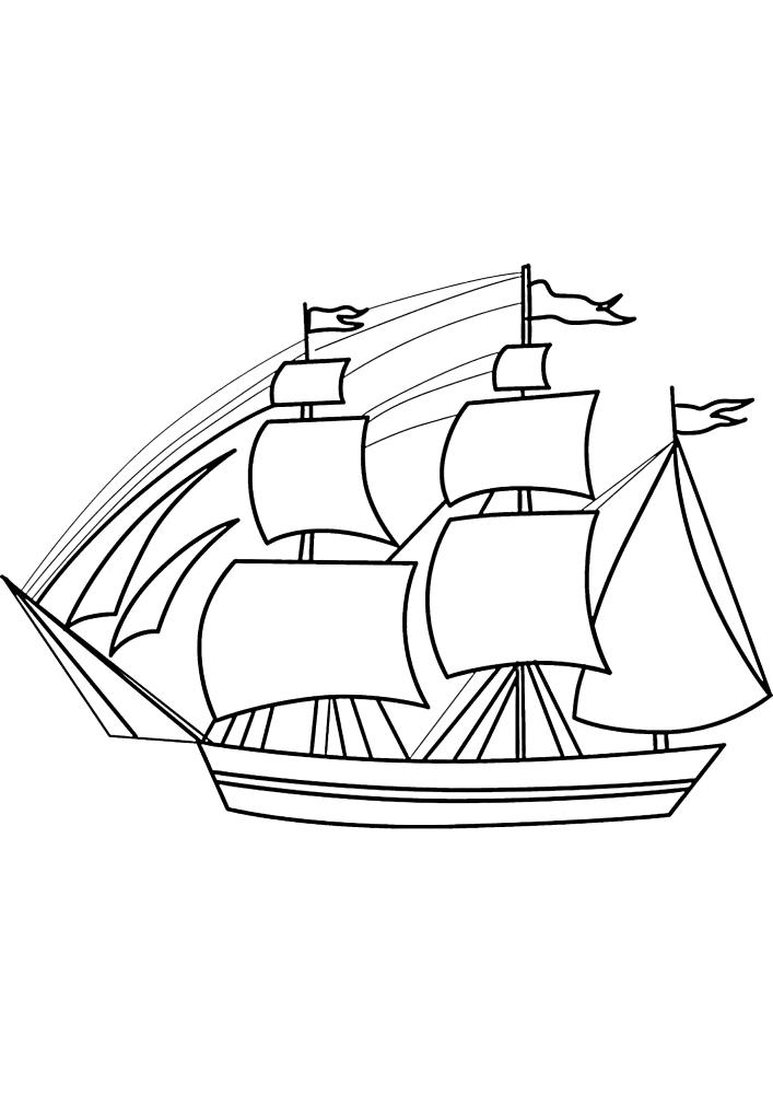 На всех кораблях установлена ватерлиния - показатель уровня нагрузки судна