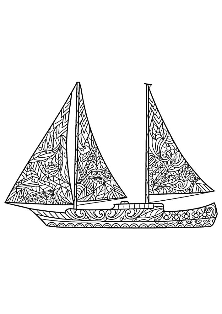 Антистресс яхта