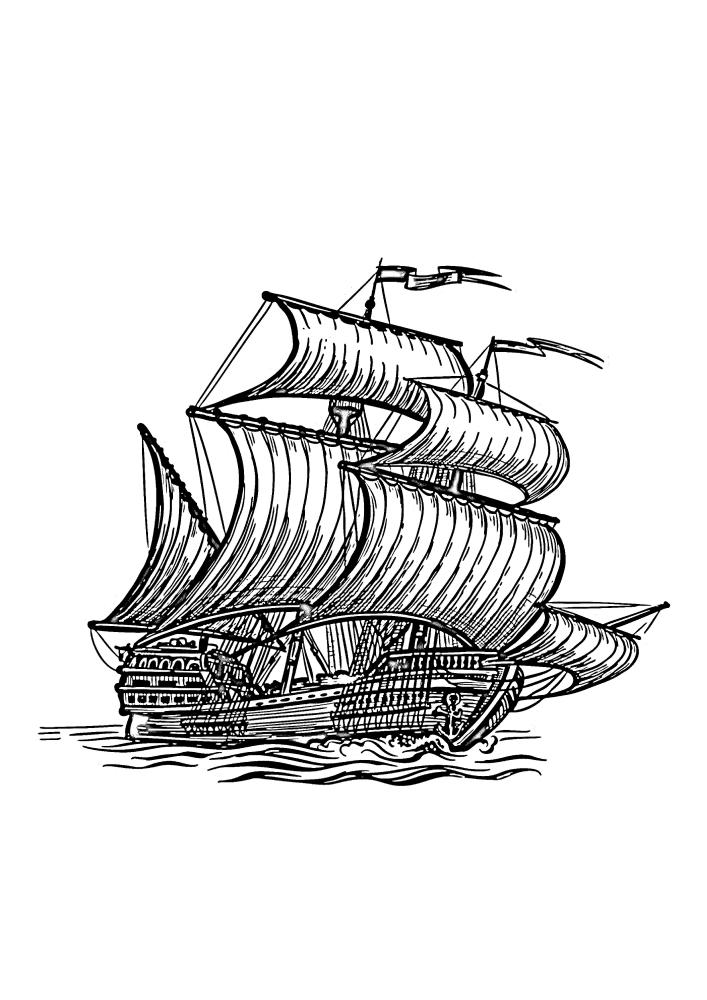 Гигантское судно