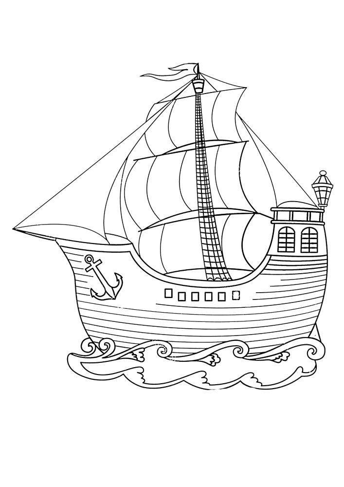 Милый кораблик