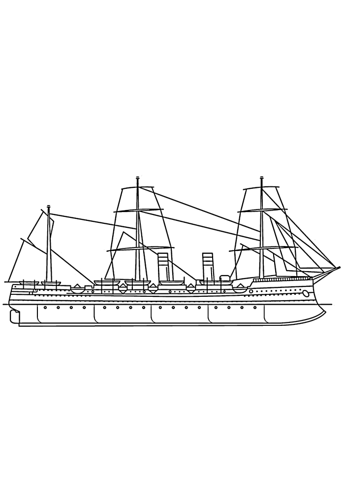 Длинный корабль
