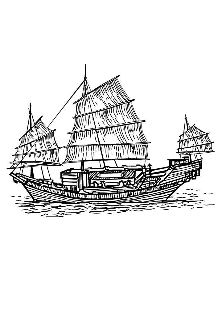 Японское судно