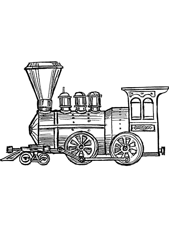 Маленький поезд