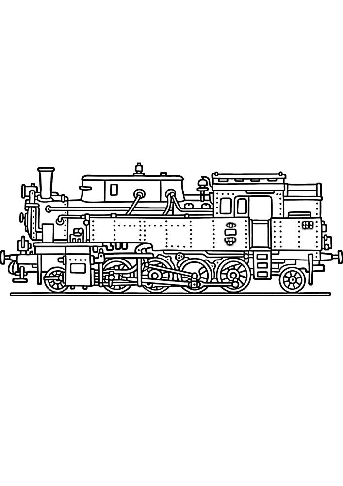 Поезд из металла