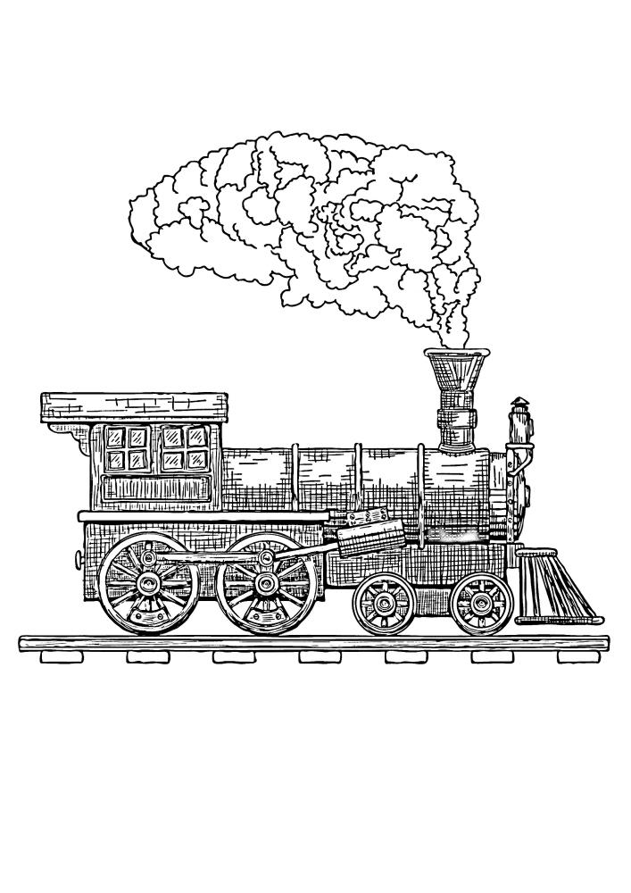 Тяжёлый паровоз