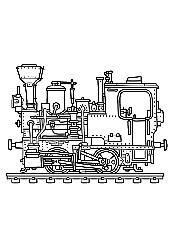 Компактный паровоз
