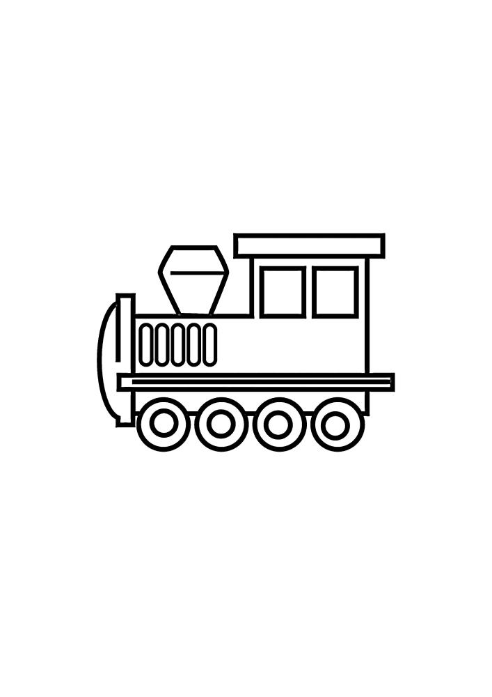 Маленький паровоз