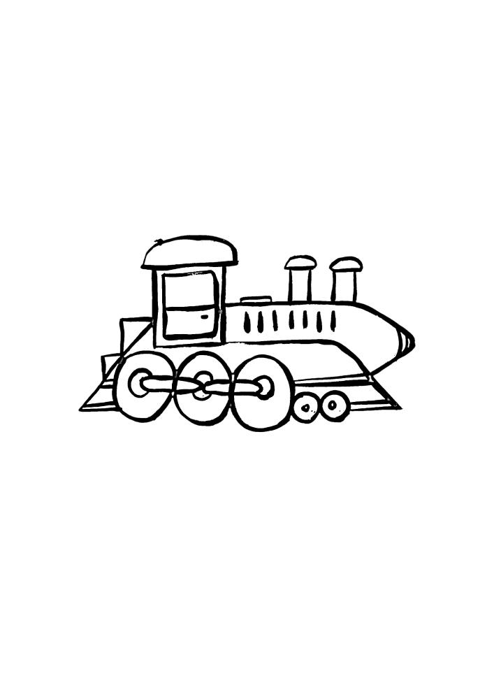 Детский вариант поезда
