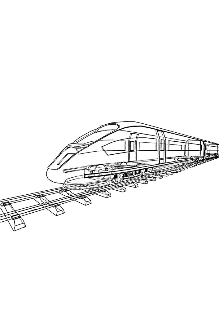 Прозрачный поезд